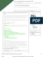 Compartiendo el Conocimiento_ Backup automáticos de bases de datos SQL Server 2008