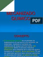 MECANIZADO QUIMICO