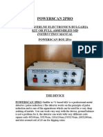 Powerscan 2 Pro(Sniffer Xr71p) Manual English