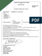 Cours Anglais Program Bac Science Maroc Najib