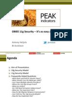 Oracle Bi 11g Security - It is as Easy as 1-2-3 (Antony Heljula)