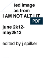 Selected Image Macros From I AM NOT ALT LIT june 2k12-may 2k13