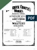 FChopin Waltzes Op64