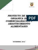 Proyecto de Ley de Comercializacion y Abastecimiento Agropecuario Final
