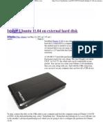Install Ubuntu 11.04 on External Hard Disk