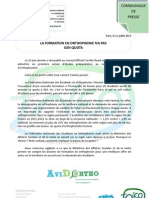 Cdp 11 Juillet (Quota Formation)