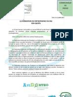 Cdp 11 Juillet (Quota Formation)