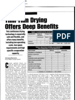 Delgada Pelicula Secado Ofrece Beneficios Profundo(Reporte)