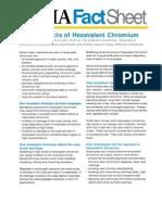 Efectos Cromo hexavalente