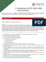 Delta DTC - Controlador de Temperatura - Instrucciones