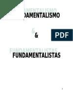APOSTILA 2 FUNDAMENTALISMO