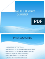 Digital Pulse Wave Counter