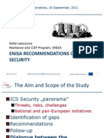 6. Afal Leszczyna - EnISA Recommendations on ICS Security
