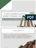 Carta Internacional Sobre Turismo Cultural
