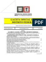 Reglamento de TRansporte Del D.F.