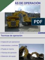 Tecnicas de Operación pala