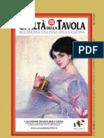 Accademia Italiana Della Cucina Nr.231 Ottobre 2011
