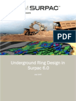 Underground Ring Design