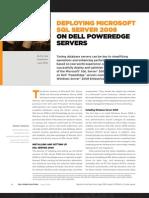 Dell Deploying Sql2k8