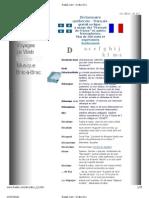dictionnaire Quebecois D to L