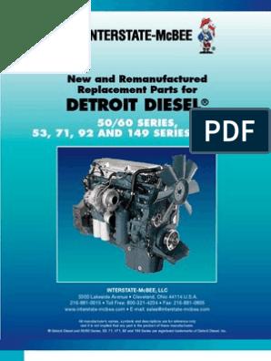 Detroit Diesel 5169478 Thermostat Housing Gasket