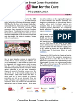 CBCF Mississauga July Newsletter