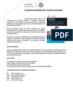DIPLOMADO GTH Informes y Cronogramas de Pagos