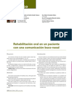 226 CASO CLINICO Rehabilitacion Oral Comunicacion Buconasal