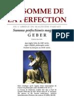[Alchimie] Geber - La Somme de La Perfection