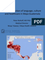 The Intersection of Language, Culture, and Medicine in Guatemala
