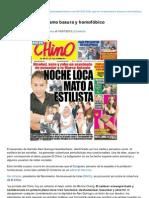 Clasesdeperiodismo.com-Lo Que Es El Periodismo Basura y Homofbico