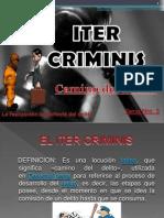 El Iter Criminis MAPA MENTAL