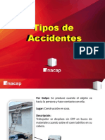 Trabajo Tipos de Accidentes