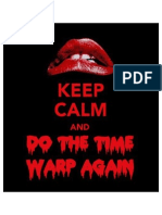 Timewarp Lips from the Rocky Horror Picture Show