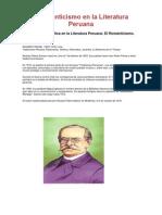 l Románticismo en la Literatura Peruana