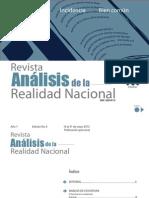 Revista Análisis de la Realidad Nacional, Edición No.6