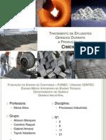 Tratamento de Efluente Gerados Durante a Produção do cimento