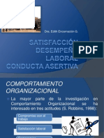 satisfacciondesempeolaboralconductaasertiva-ptacion-110619230754-phpapp01