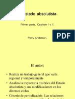El Estado Absolutista.