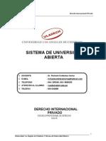 Derecho Internacional Privado - Monografia