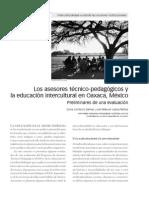 Sonia Comboni- Los Asesores Tecnicos en La Educacion Indigena
