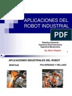 Aplicaciones Del Robot Industrial