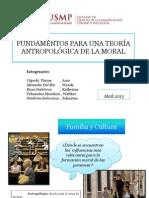 Fundamentos para una teoría Antropológica de la Moral_Grupo 2