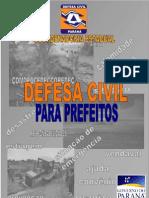 Defesa Civil Para Prefeitos