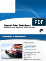 Hypnotic Sales Techniques