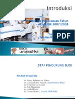 Introduksi Blok Uropotika TA 2007-2008
