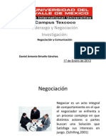 Tarea de Negociacion y Comunicacion