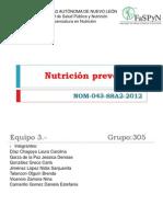 NOM-043-SSA2-2012, Servicios básicos de salud