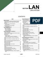 2003 Nissan Altima 2.5 Serivce Manual Lan