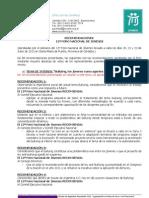 Recomendaciones 12º Foro Nacional de Jóvenes - Scouts de Argentina